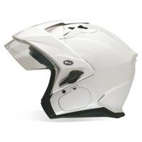Bell Mag 9 Sena Solid Helmet White