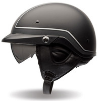 Bell PS PIT Boss Pin Stripe Half Face Helmet