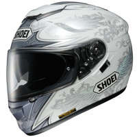 Shoei GT-Air Grandeur Helmet Side View