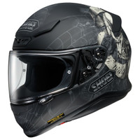 Shoei Rf-1200 Brigand Helmet Left Side View