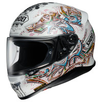 Shoei RF-1200 Graffiti Helmet Left Side View