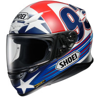 Shoei Rf-1200 Indy Marquez Helmet Side View