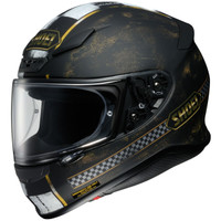 Shoei Rf-1200 Terminus Helmet Black Side View