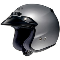 Shoei Rj Platinum R Helmet Silver