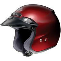 Shoei Rj Platinum R Helmet Red