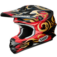 Shoei VFX-W Taka Helmet Red