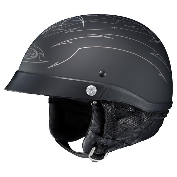 HJC CL-Ironroad Show Boat Helmet Silver