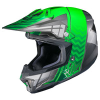 HJC CL-X7 Cross-Up Helmet Green