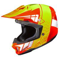 HJC CL-X7 Cross-Up Helmet Yellow