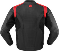 Icon Hypersport Jacket Red Back Side