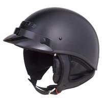 G-Max GM35F Solid Full Dressed Helmet Flat Black