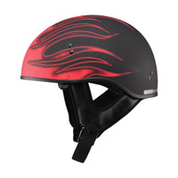 G-Max GM65 Flame Helmet Red