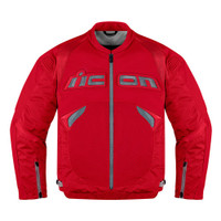 Icon Sanctuary Leather Jacket Red