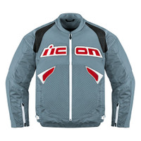 Icon Sanctuary Leather Jacket Grey