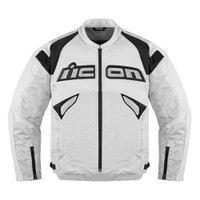 Icon Sanctuary Leather Jacket White Front