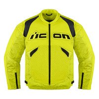 Icon Sanctuary Leather Jacket Yellow