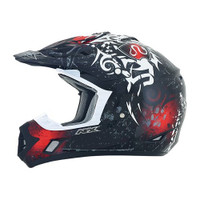 AFX FX-17 Danger Helmet Red