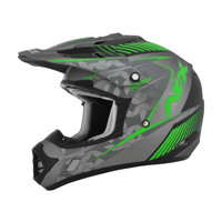 AFX FX-17Y Factor Youth Helmet Green