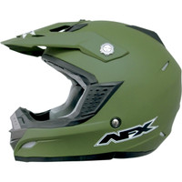 AFX FX-19 Solid Helmet Green
