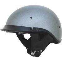 AFX FX-200 Metal Flake Helmet Silver