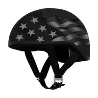AFX FX-200 Slick Flag Helmet Stealth Black