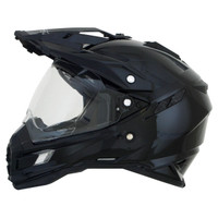AFX FX-41DS Solid Helmets Black