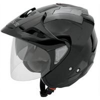 AFX FX-50 Solid Helmet  Black