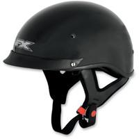 AFX FX-72 Solid Helmet with Single Inner Lens Flat Black
