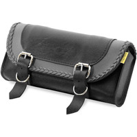 Willie & Max Gray Thunder Braided Tool Pouch Gray