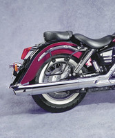 National Cycle Black Mount Frame Kit for Cruiseliner Saddlebag