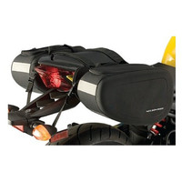 Nelson-Rigg SPRT-40 Sport Motorcycle Saddlebags Black