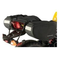 Nelson-Rigg SPRT-40 Sport Motorcycle Saddlebags Black