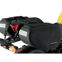 Nelson-Rigg SPRT-50 Touring Motorcycle Saddlebags Black