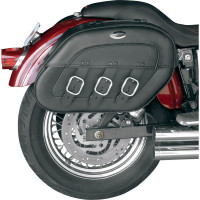 Saddlemen S4 Rigid-Mount Specific-Fit Quick-Disconnect Saddlebags For Honda Shadow VT1100C