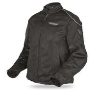 Fly Racing Coolpro II Ladies Mesh Jacket Black