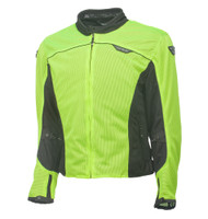 Fly Racing Flux Air Mesh Jacket Yellow