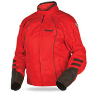 Fly Racing Georgia II Ladies Jacket Red