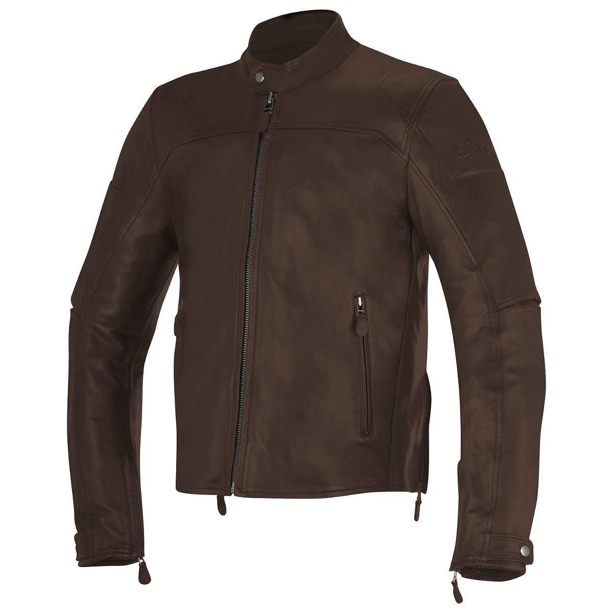 Leather jacket brown -  Alpinestars Brera Leather Jacket Brown