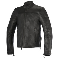 Alpinestars Brera Leather Jacket Black1