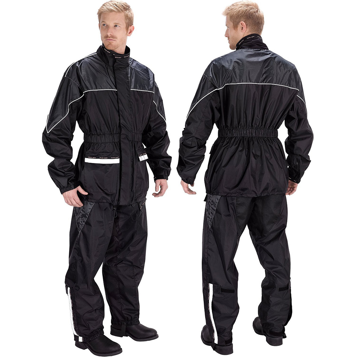 motor cycle rain suits Mens motorcycle rain suits provide the best protection in the rain in orange,  green, night reflective, and comfortable mens motorcycle rainsuits at blaze  leather.
