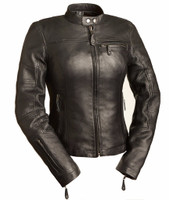First Classics Girl Power Women's Leather Jacket