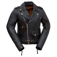 First Classics Rock Star Women's Leather Jacket