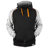 Speed and Strength Cruise Missile Armored Hoody Black Front View
