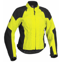 Firstgear Women's Contour Textile Jacket Yellow Front Side