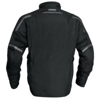 Firstgear Jaunt T2 Jacket Black Back Side View