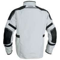 Firstgear Jaunt T2 Jacket Silver Back Side View