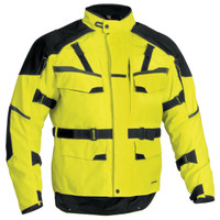 Firstgear Jaunt T2 Jacket Yellow Front Side View