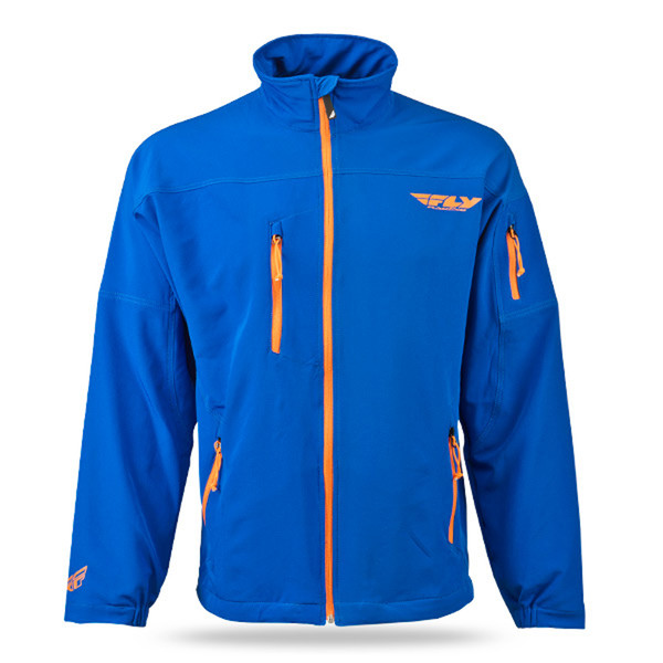 Fly Racing Win-D Jacket Blue