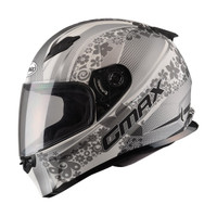 G-Max - FF49 Elegance Helmet Silver