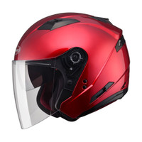 G-Max OF77 Helmet - Solid Red